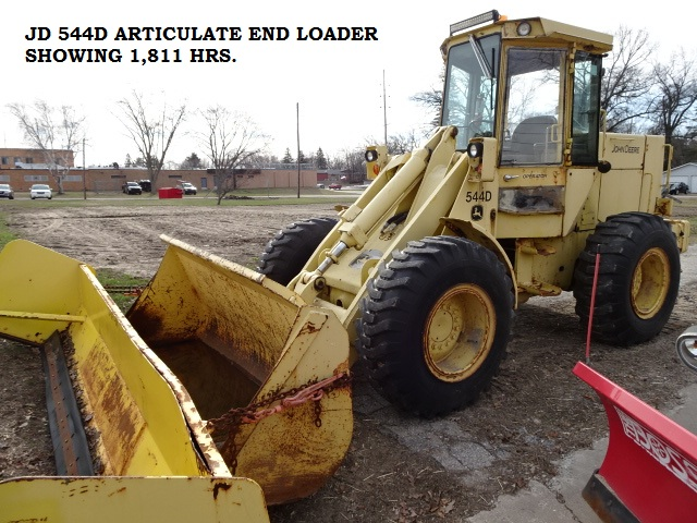 JD 544D ARTICULATE END LOADER